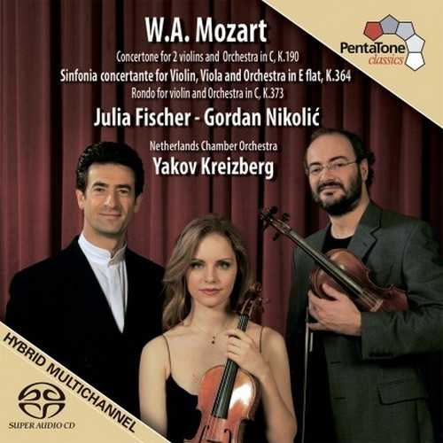 Fischer, Nikolić: Mozart - Sinfonia concertante K.364 (24/96 FLAC)
