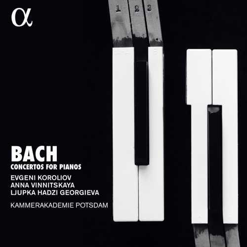 Vinnitskaya: Bach - Concertos for Pianos (24/96 FLAC)