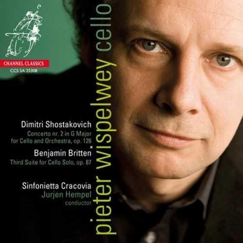 Wispelwey: Shostakovich - Concerto no.2 in G major for Cello and Orchestra, Britten - Third Suite for Cello Solo (24/192 FLAC)