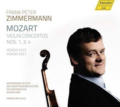 Zimmermann: Mozart - Violin Concertos, Rondo, Adagio (24/48 FLAC)