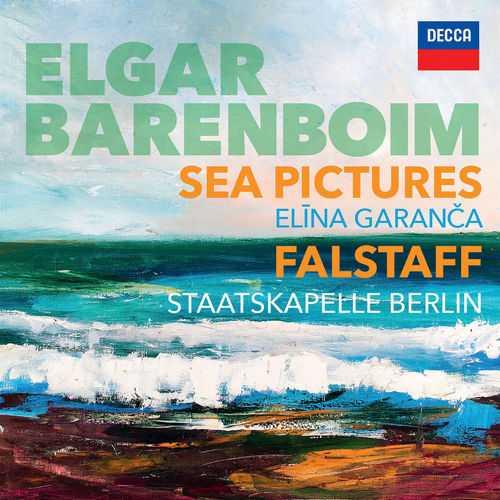 Barenboim: Elgar - Sea Pictures. Falstaff (24/96 FLAC)