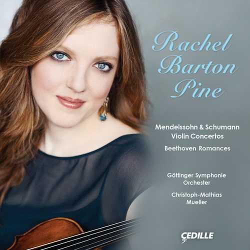 Barton Pine: Mendelssohn & Schumann - Violin Concertos, Beethoven Romances (24/96 FLAC)