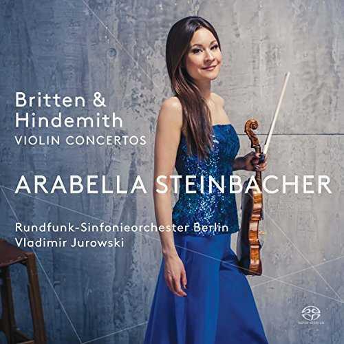 Jurowski, Steinbacher: Britten, Hindemith - Violin Concertos (24/88 FLAC)