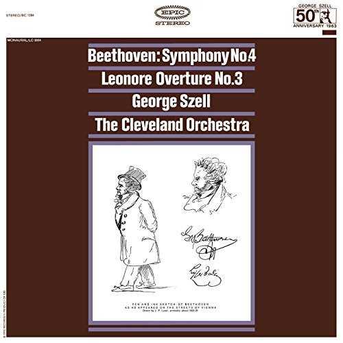 Szell: Beethoven - Symphony no.4, Leonore Overture (24/192 FLAC)