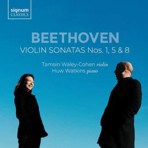 Waley-Cohen, Watkins: Beethoven - Violin Sonatas Nos. 1, 5 & 8 (24/96 FLAC)