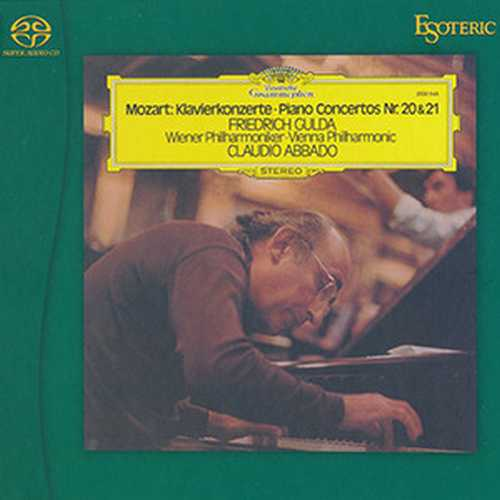 Gulda, Abbado: Mozart - Piano Concertos no.20, 21 (SACD)