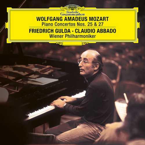 Gulda, Abbado: Mozart - Piano Concertos no.25 & 27 (24/96 FLAC)