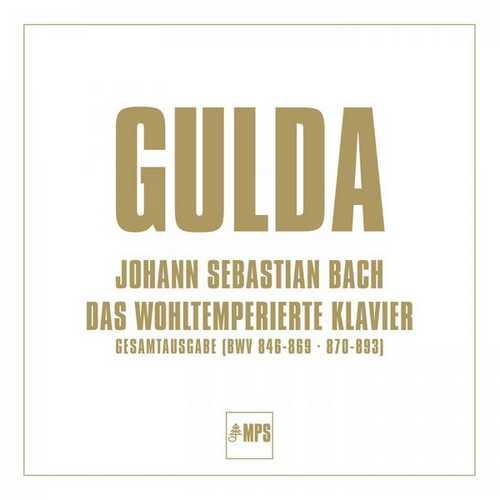 Gulda: Bach - Das Wohltemperierte Klavier (24/96 FLAC)