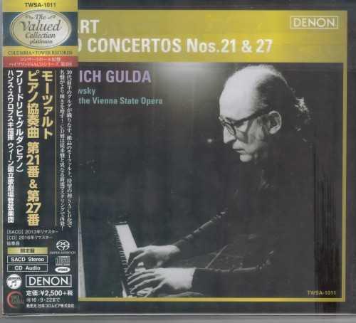 Gulda, Swarowsky: Mozart - Piano Concertos no.21 & 27 (SACD)