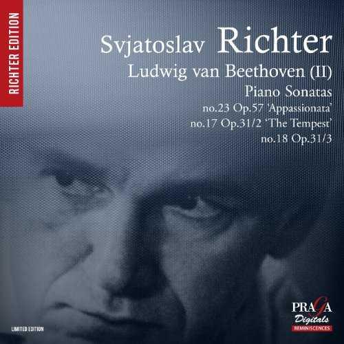Richter: Beethoven II - Piano Sonatas no.23, 17, 18 (SACD)