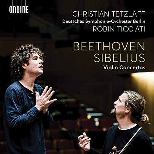 Tetzlaff, Ticciati: Beethoven, Sibelius - Violin Concertos (24/48 FLAC)