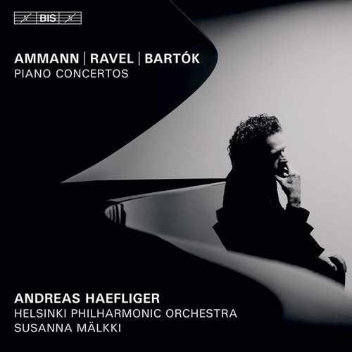 Haefliger, Mälkki: Ammann, Ravel, Bartok - Piano Concertos (24/96 FLAC)