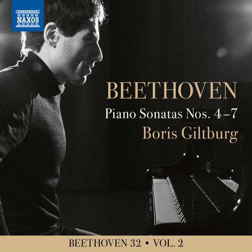 Boris Giltburg - Beethoven 32 vol.2. Piano Sonatas Nos. 4-7 (24/96 FLAC)