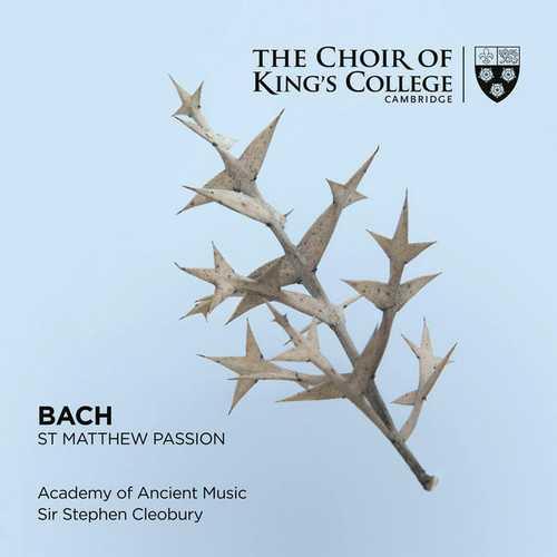Cleobury: Bach - St. Matthew Passion (24/96 FLAC)