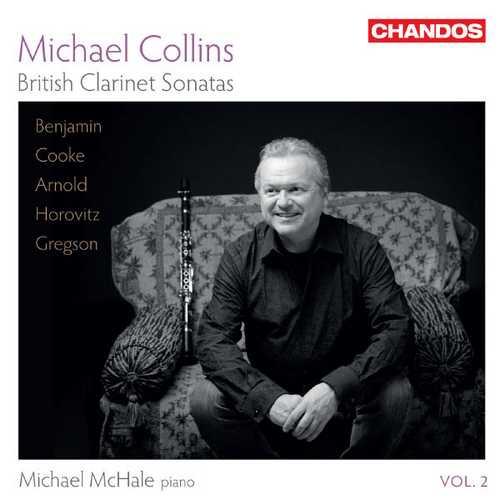 Michael Collins - British Clarinet Sonatas vol.2 (24/96 FLAC)
