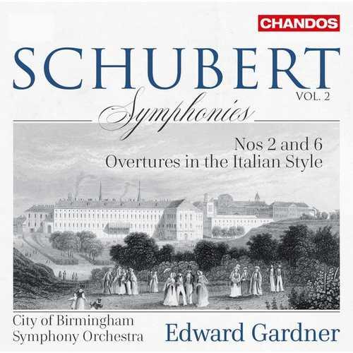 Gardner: Schubert - Symphonies vol.2 (24/96 FLAC)