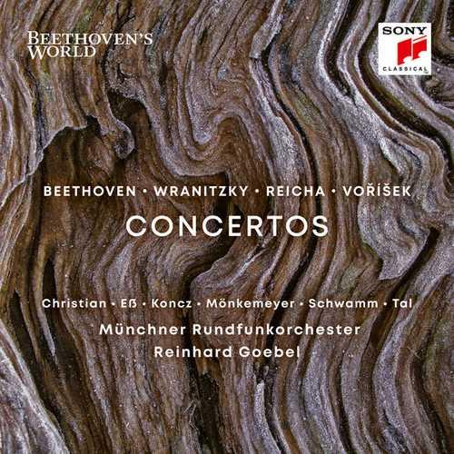 Goebel: Beethoven, Wranitzky, Reicha, Vorisek - Concertos (24/96 FLAC)