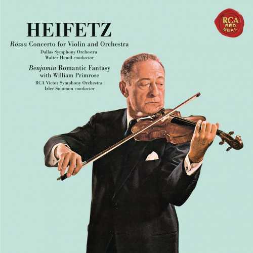 Heifetz: Rósza - Violin Concerto, Benjamin - Romantic Fantasy (SACD)
