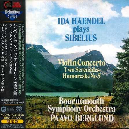 Berglund: Ida Haendel plays Sibelius (SACD)