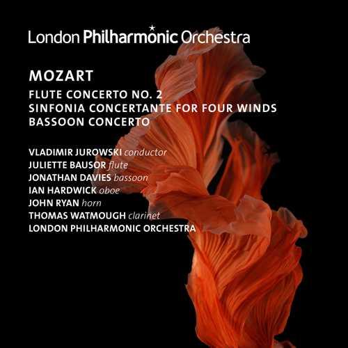 Jurowski: Mozart - Flute Concerto no.2, Sinfonia Concertante for Four Winds, Bassoon Concerto (24/96 FLAC)
