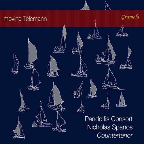 Nicholas Spanos, Pandolfis Consort - Moving Telemann (24/96 FLAC)