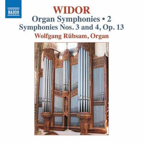 Rübsam: Widor - Organ Symphonies vol.2 (24/96 FLAC)