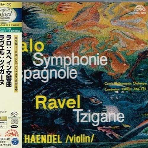 Haendel, Ancerl: Lalo - Symphonie Espagnole, Ravel - Tzigane (SACD)