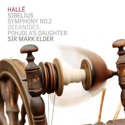 Elder, Hallé: Sibelius - Symphony no.2, Oceanides, Pohjola's Daughter (24/44 FLAC)