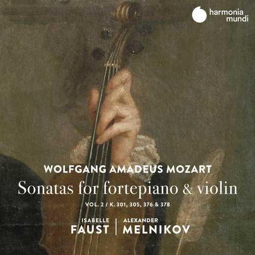 Faust, Melnikov: Mozart - Sonatas for Fortepiano & Violin vol.2 (24/96 FLAC)