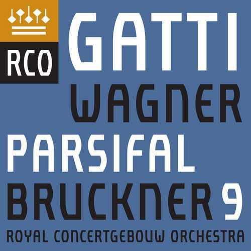 Gatti: Wagner- Parsifal, Bruckner - Symphony no.9 (24/96 FLAC)