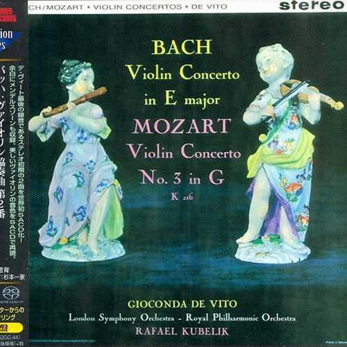 Gioconda de Vito: Bach, Mozart, Mendelssohn - Violin Concertos (SACD)