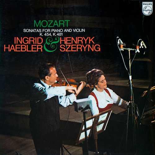 Haebler, Szeryng: Mozart – Sonatas For Piano And Violin K.454, K.481 (24/96 FLAC)