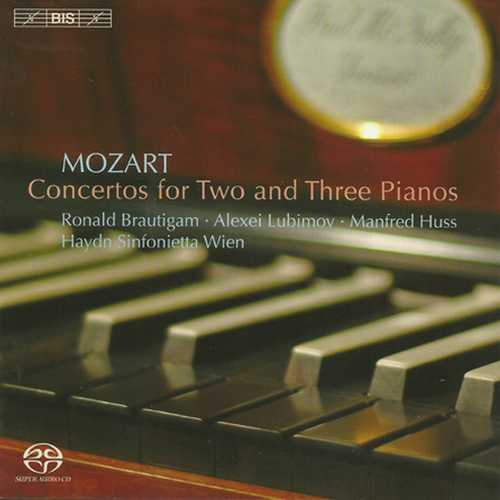 Huss: Mozart - Concertos for Two and Three Pianos (SACD)