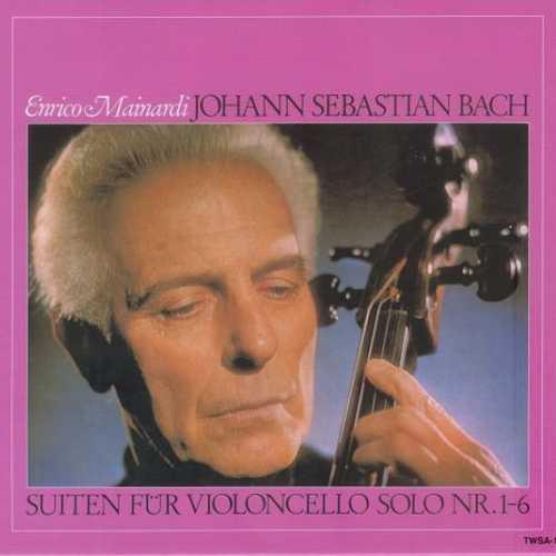 Mainardi: Bach - Suiten für Violoncello Solo no.1-6 (SACD)