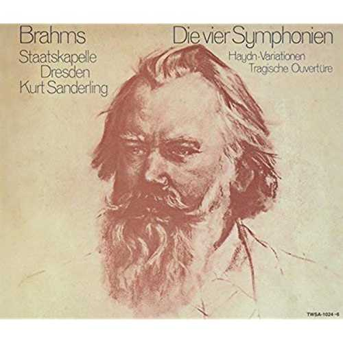 Kurt Sanderling: Brahms - 4 Symphonies (SACD)