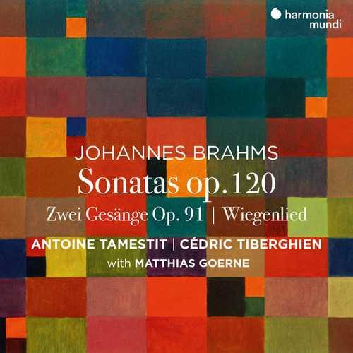 Tamestit, Tiberghien, Goerne: Brahms - Viola Sonatas (24/96 FLAC)