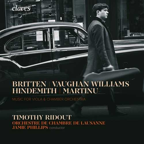 Timothy Ridout - Music for Viola & Chamber Orchestra (24/96 FLAC)