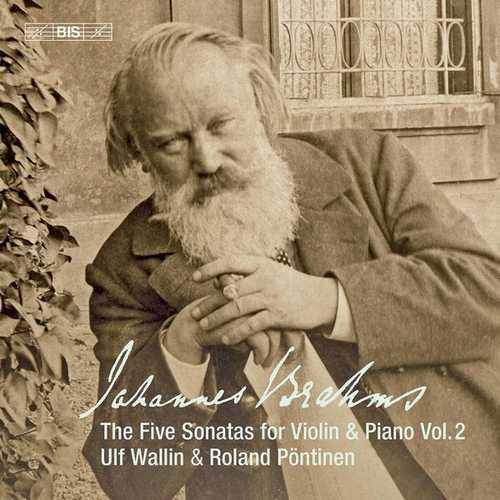 Wallin, Pontinen: Brahms - Works for Violin & Piano vol.2 (24/96 FLAC)