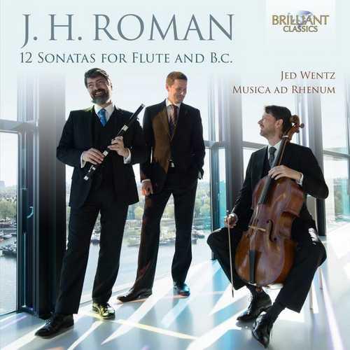 Wentz: Roman - 12 Sonatas for Flute and B.C. (24/96 FLAC)