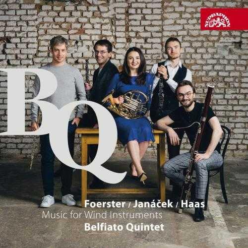 Belfiato Quintet: Foerster, Janáček, Haas - Music for Wind Instruments (24/44 FLAC)