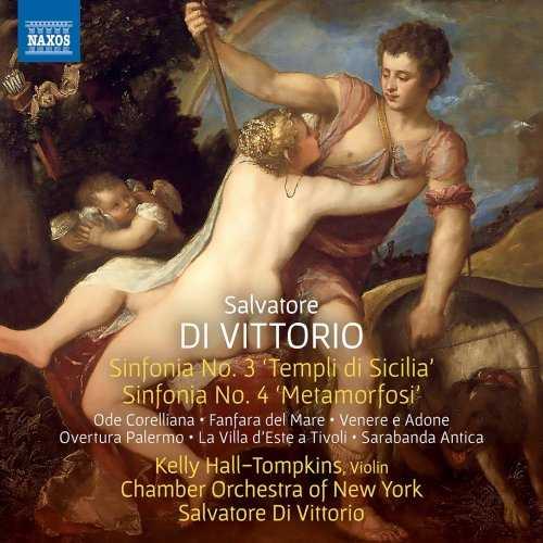 Hall-Tompkins, Di Vittorio: Di Vittorio - Sinfonia no.3 & 4 (24/96 FLAC)