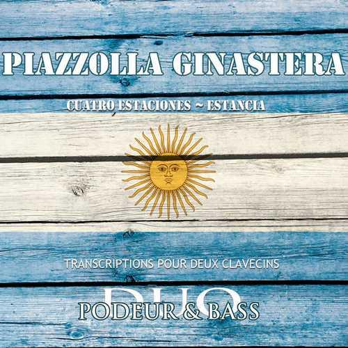Didier Henry: Piazzolla - Las 4 Estaciones Porteñas, Ginastera - Estancia (24/88 FLAC)