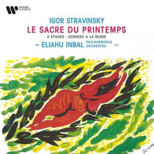 Inbal: Stravinsky - Le Sacre du Printemps, 4 Études, Scherzo à la Russe (FLAC)