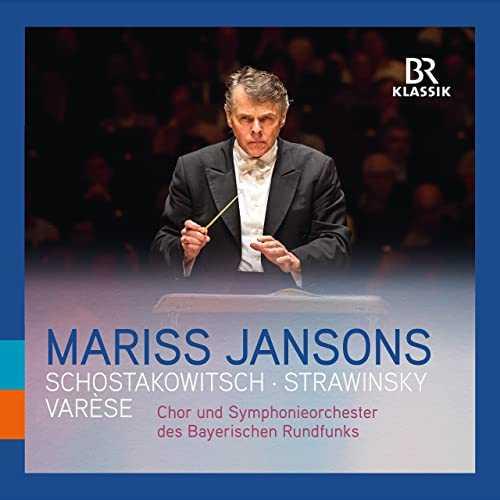 Jansons: Varèse, Stravinsky, Shostakovich (24/48 FLAC)