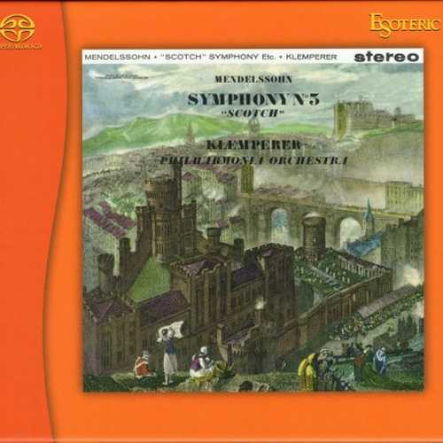Klemperer: Mendelssohn - Symphony no.3, Schumann - Symphony no.3 (SACD)