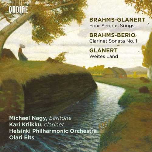 Nagy, Kriikku, Elts: Brahms-Glanert - Four Serious Songs (24/96 FLAC)