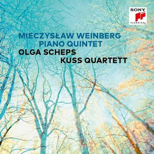 Olga Scheps, Kuss Quartett: Mieczysław Weinberg - Piano Quintet op.18 (24/48 FLAC)