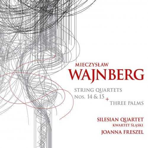 Silesian Quartet: Weinberg - String Quartets no.14-15, Three Palms (24/96 FLAC)