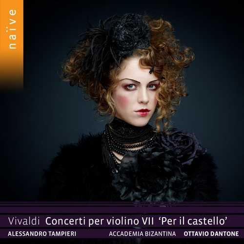 """Dantone: Vivaldi - Concerti per violino VII """"Per il castello"""" (24/88 FLAC)"""