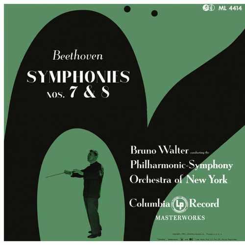 Walter: Beethoven - Symphonies no.7 & 8. Remastered (24/96 FLAC)